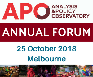 APO ANNUAL FORUM
